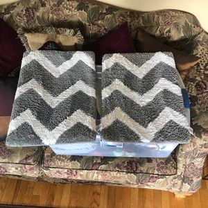 Barely used Bath rugs